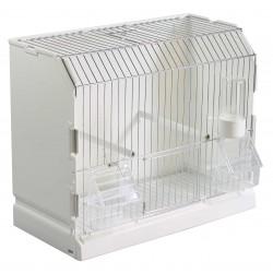 Cage exposition 3 portes métal